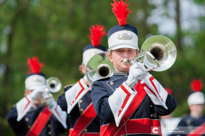 Kamper Trompetter Korps | Jeugd | Opleiding | optreden | fotograaf | © Fotografiecor.nl
